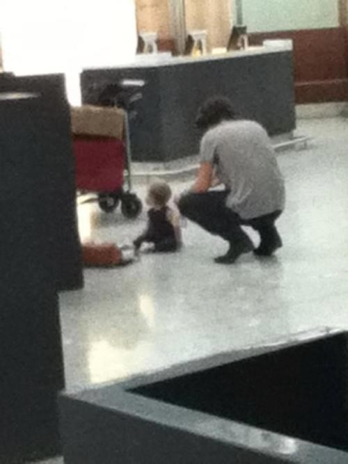 Harry and Baby Lux :)