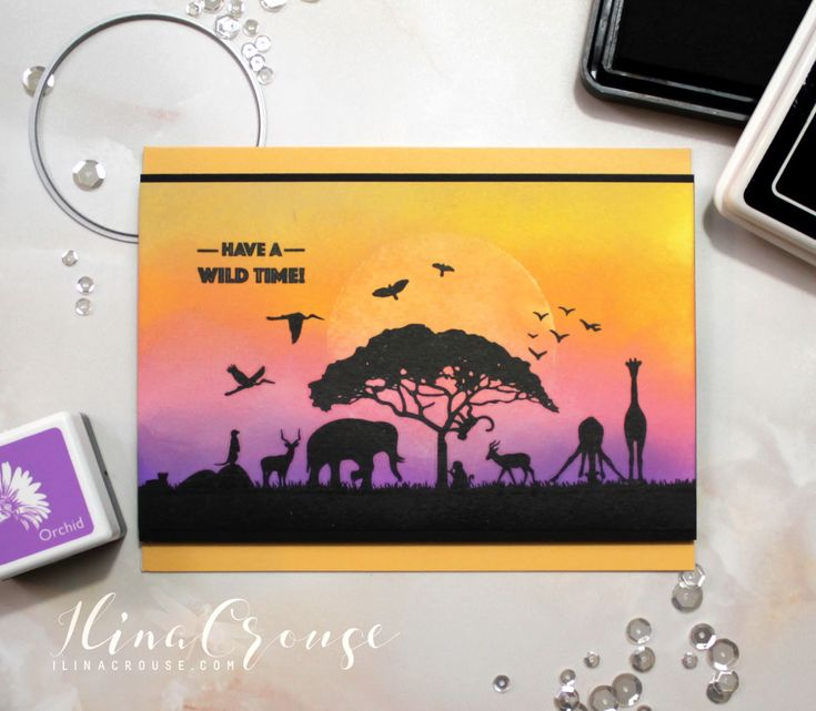 Hi Stampers! Happy Monday and welcome to another My Monthly Hero Release! This month we are taking you on a safari. This is another to...