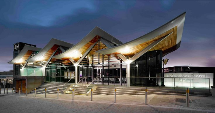 aedas: rotherham central station open to the public