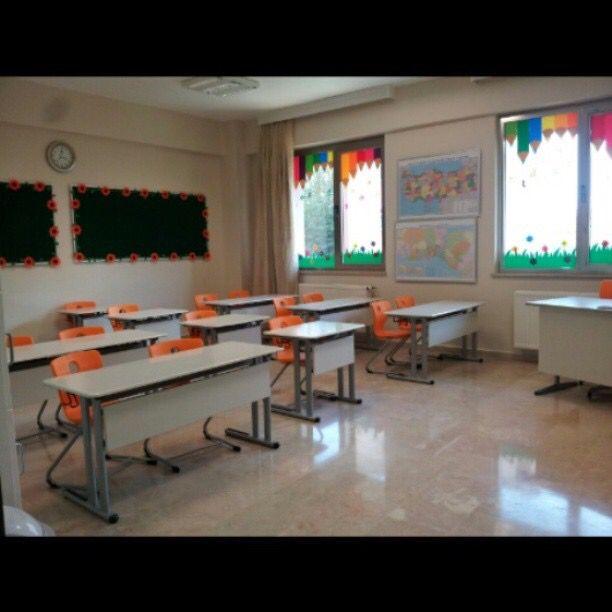 Sınıf dekorasyonu süslemesi