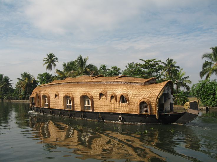 India. Specifically the backwaters of Kerala, preferably on a very slow boat gliding along sipping chai.