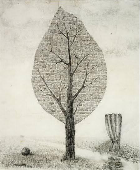 René Magritte ~ La geante, 1936
