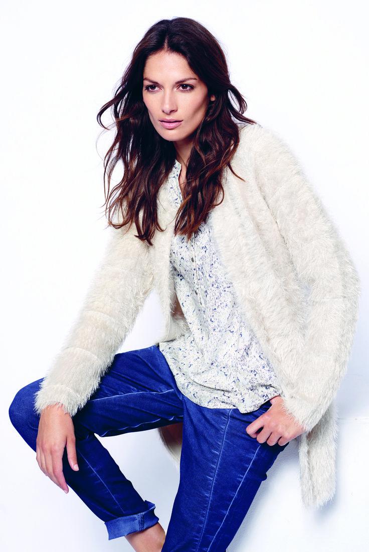 soyaconcept - cardigan - knit - shirt - blouse - pants - jeans