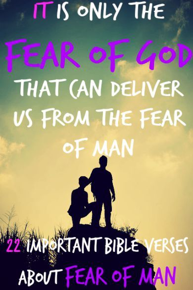 bible verses about fear scriptures study