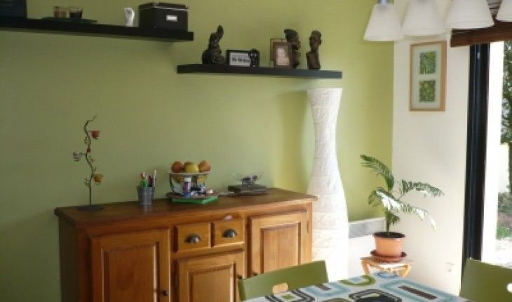 D coration cuisine vert olive d co int rieure pinterest cuisine verte olive cuisine verte - Cuisine vert olive ...