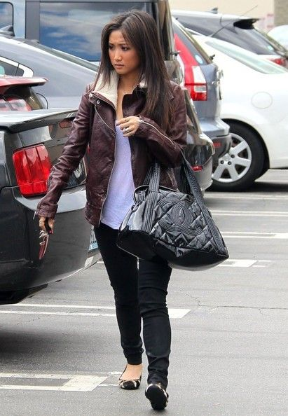 Brenda Song - Brenda Song Grabs Lunch With a Friend