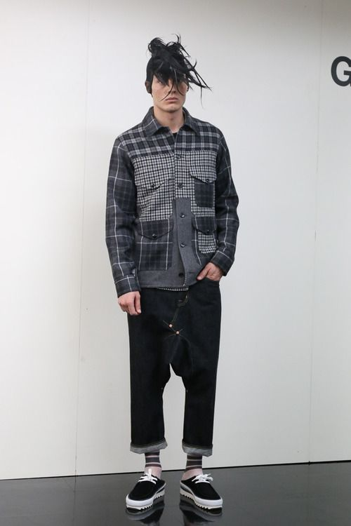 [No.3/72] GANRYU 2014春夏コレクション | Fashionsnap.com