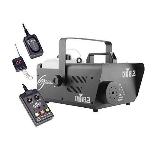 CHAUVET DJ Hurricane 1600 2.4L Pro Fog Machine w/Wired & Wireless Remote | H1600 199.99