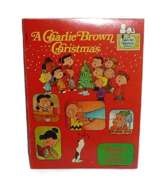 RARE Vintage A Charlie Brown Christmas PEANUTS Book Peanuts