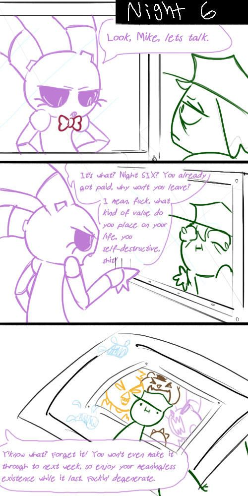 Mikes Problem By Kinginbros2011 On Deviantart Five Nights At