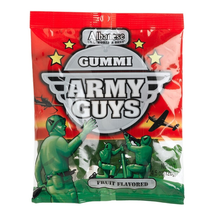 Gummi Army Guys -