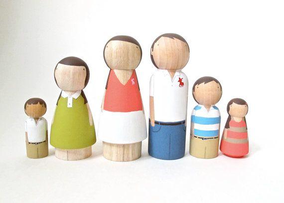wooden peg dolls | etsy | goosegrease