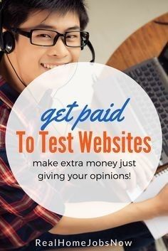 Get paid to test websites and apps