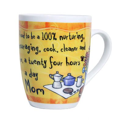 Mom Mug - The saying is perfect and a coffee cup will never go unused so it's the perfect, practical gift.