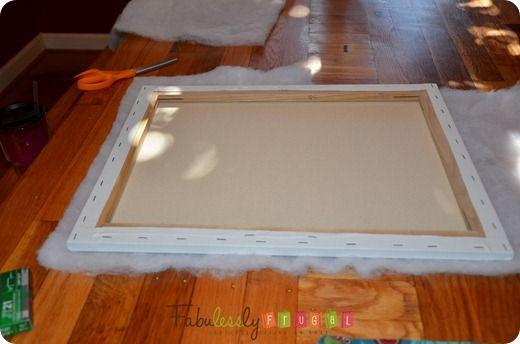 DIY French Bulletin Board {Easy Craft Idea} | Fabulessly Frugal