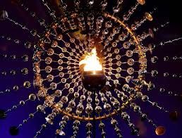 Rio Olympic flame