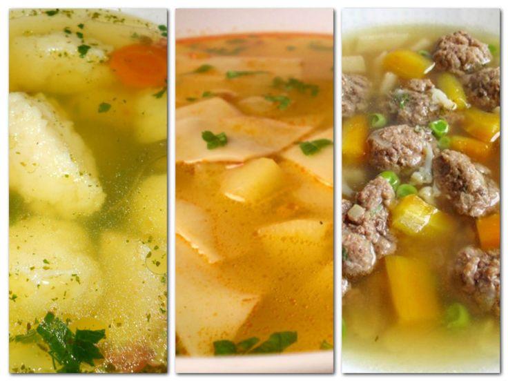18 legjobb levesbetét - spenótgombóc sültborsó ...