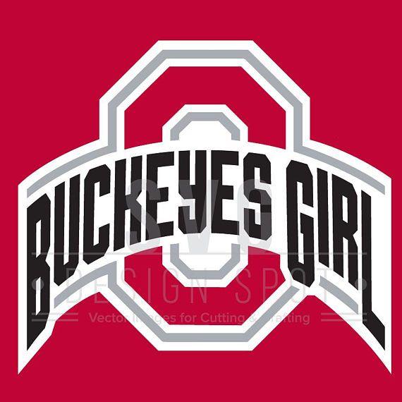 Ohio State Buckeyes Girl Logo Svg Osu Wall Art Ohio State Ohio State Logo Ohio State Vs Michigan Ohio State Wallpaper