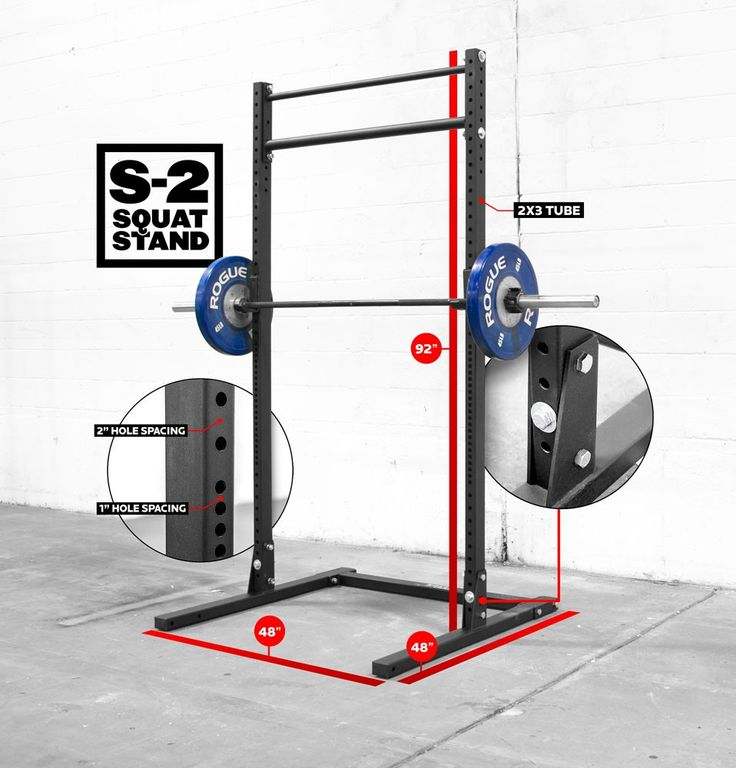 Rogue s squat stand i want this in my life