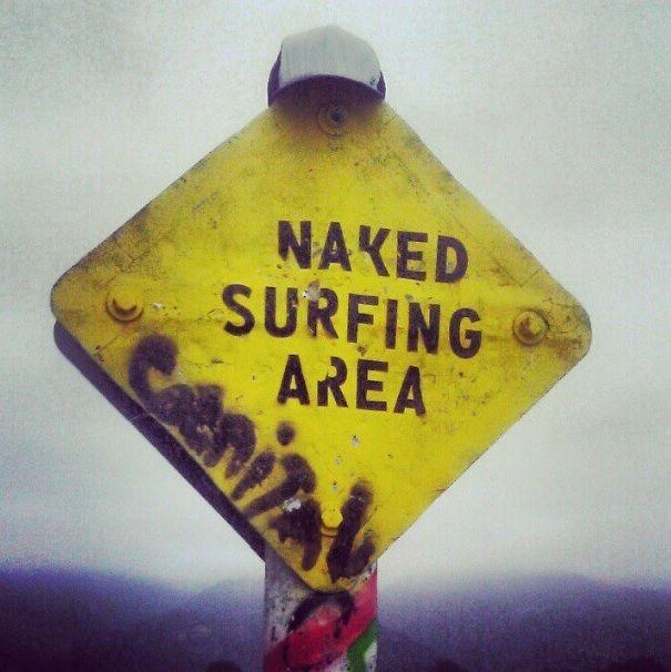 Surf naked cozumel