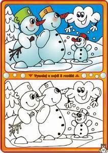 Rozdíly sněhuláci