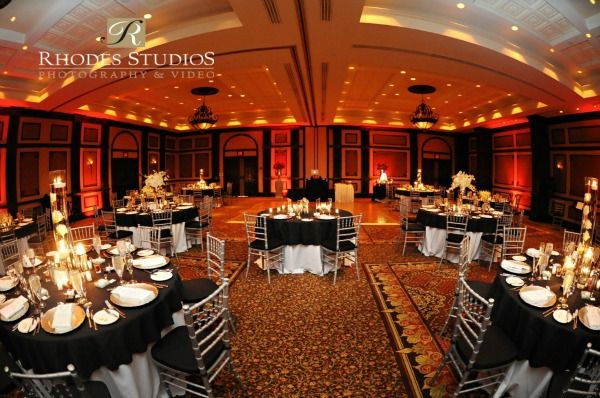 Gold And Black Wedding Ideas: Silver Black And Gold Weddings, White Rose Entertainment