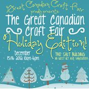 Inaugural Great Canadian Craft Fair | Vancouverscape