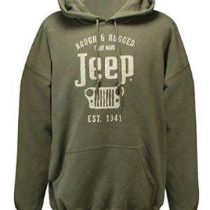 Men's Rough & Rugged Jeep Hooded Sweatshirt