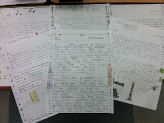 Creating the Thank You letters for Donors Choose