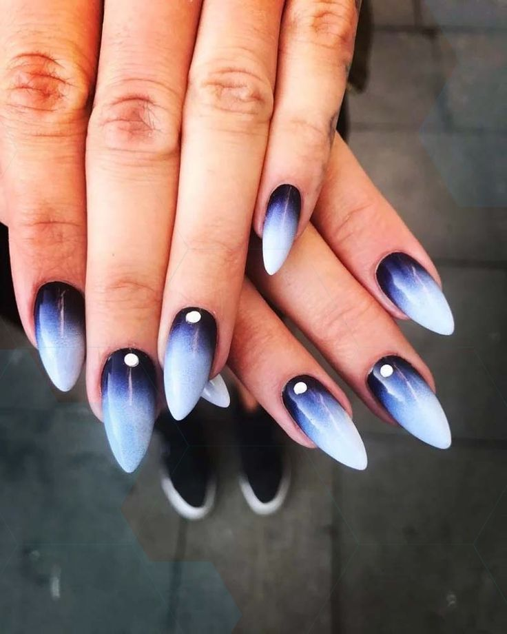 Great ombre nail art 2019,