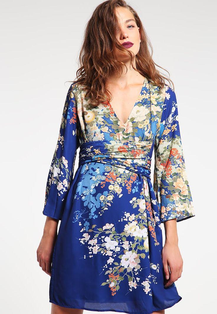 Guess DAVINA - Robe d'été - blue - ZALANDO.FR