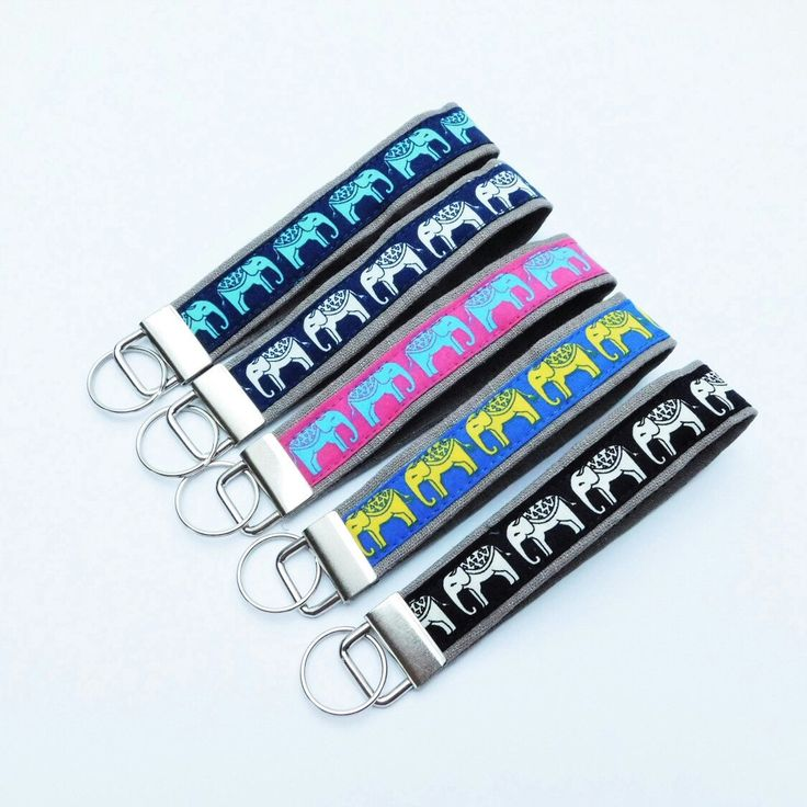 Key fobs. Cute item not only for dog lovers. They can be cool, little gift for somebody.