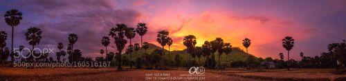 Krang Dei Meas Mountain ! by MardySuongPhotography  landscape sunset sony cambodia mountain zeiss 2016 khmer mountian ambassador phnompenh mardysuong A7