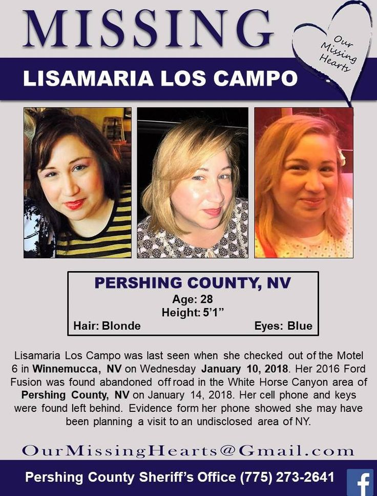 Find Missing Lisamaria Martin Del Los Campo!