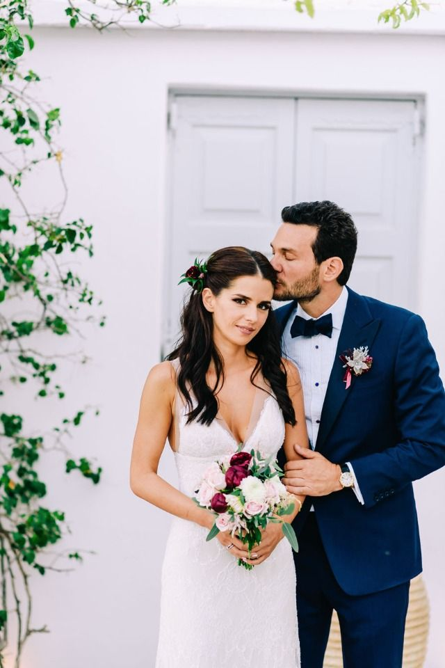 We're Dreaming Of Greece Thanks To This Insanely Gorgeous Wedding