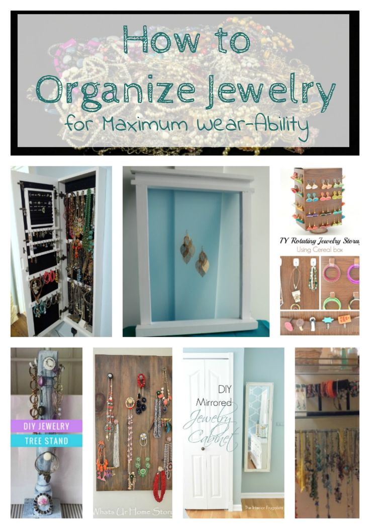 How to Organize Jewelry