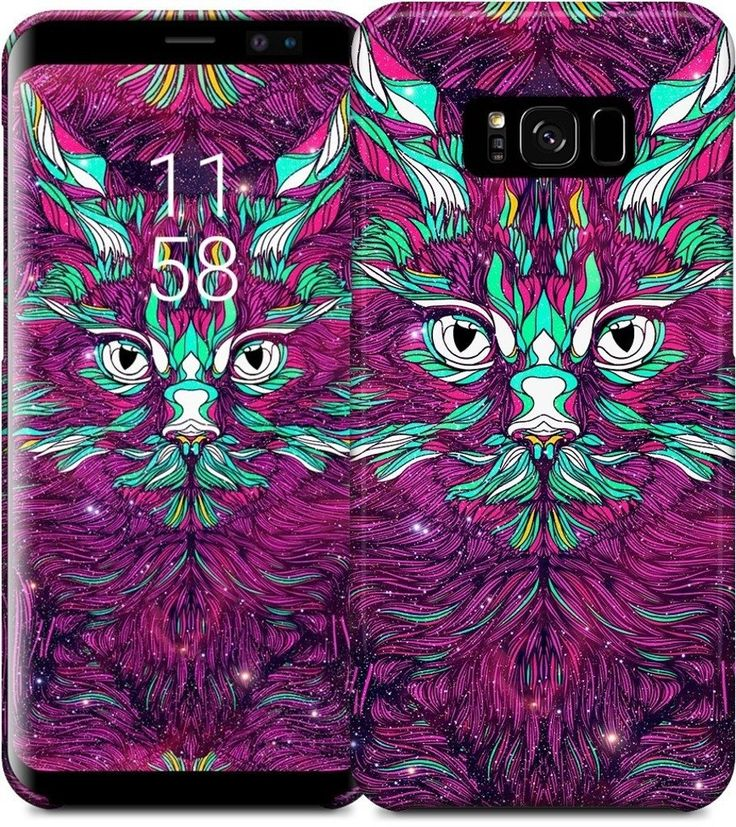 Space Cat Samsung Case