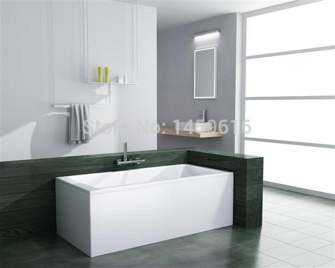 63'bathtub and acrylic +ABS composite board Piscine soaking Hot tub W8006