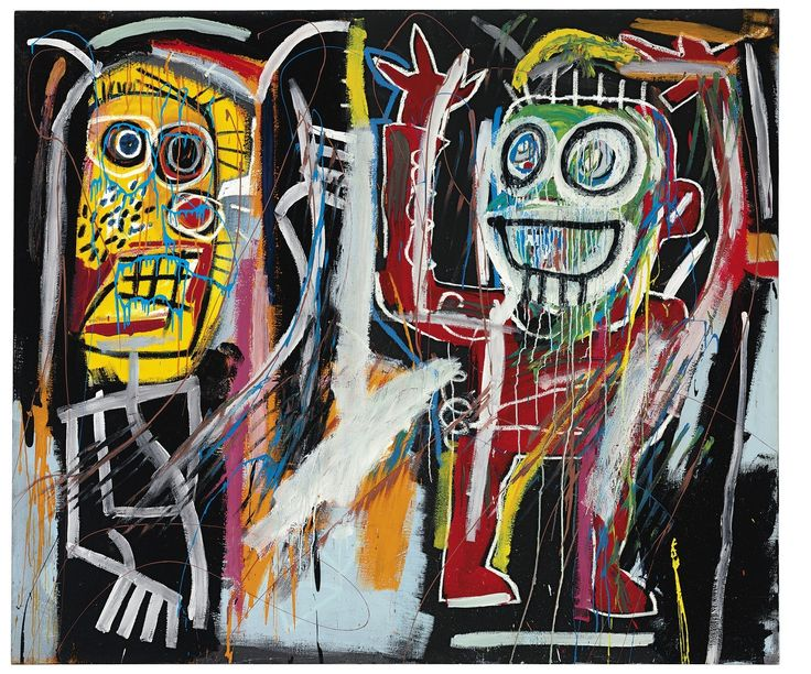 basquiat paintings | Pollack, Lichtenstein, Basquiat paintings set marks in record $495 ...