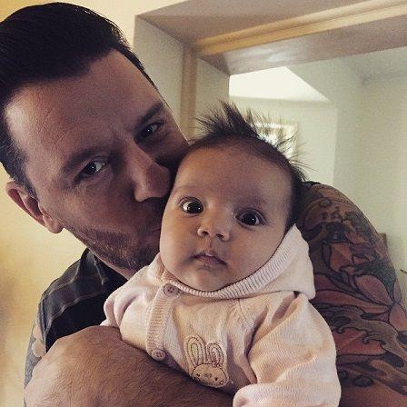 Papa & baby Charlee
