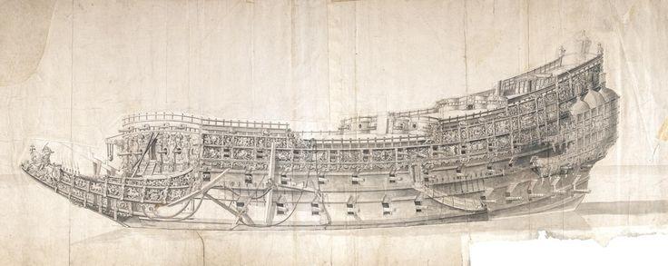 """""""Sovereign of the Seas"""", by Van de Velde"""