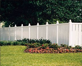 vinyl fencing images - Google Search