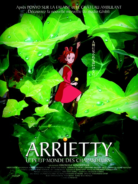MIYAZAKI! When is it going to be stateside??: Borrowed Arrietti, Not Them Miyazaki, Cartoon, The Small, Des Chapardeur, Mond Des, The Secret, Petite Mond, Studios Ghibli