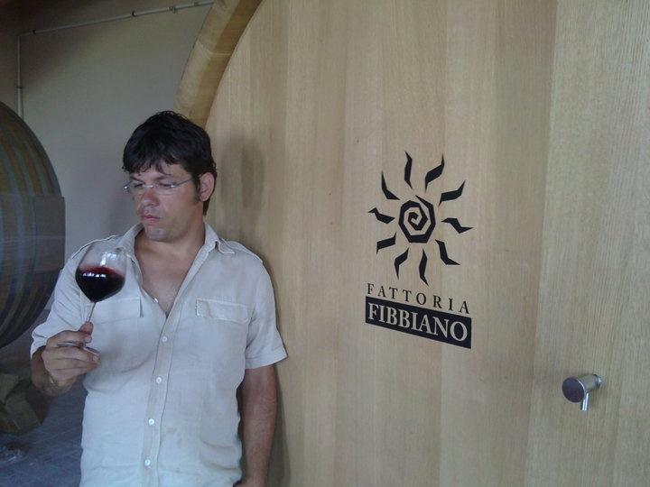 Nicola wine tasting @ fattoria-fibbiano