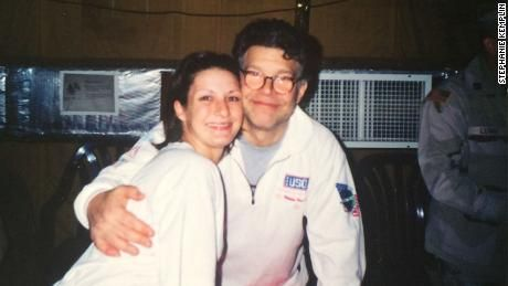 Army veteran says Franken groped her during USO tour in 2003 - CNNPolitics