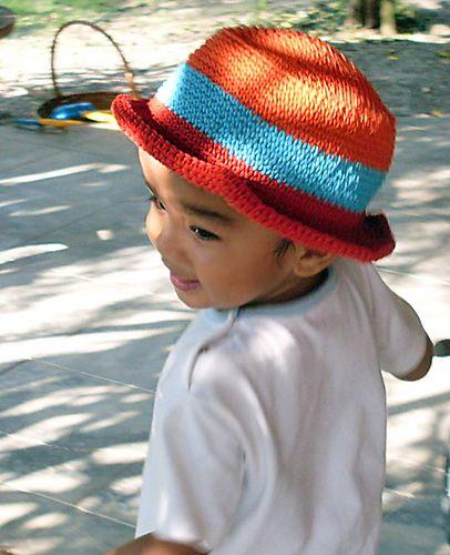 Free Summer Hats to Crochet for Kids -Kid's Sun Hat