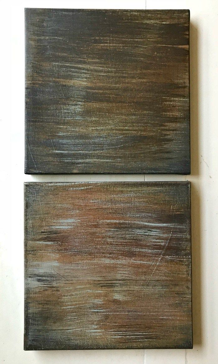 How To Patina Paint Faux Metal Finishes 20 Examples Painting Metal Doors Patina Paint Diy Painting