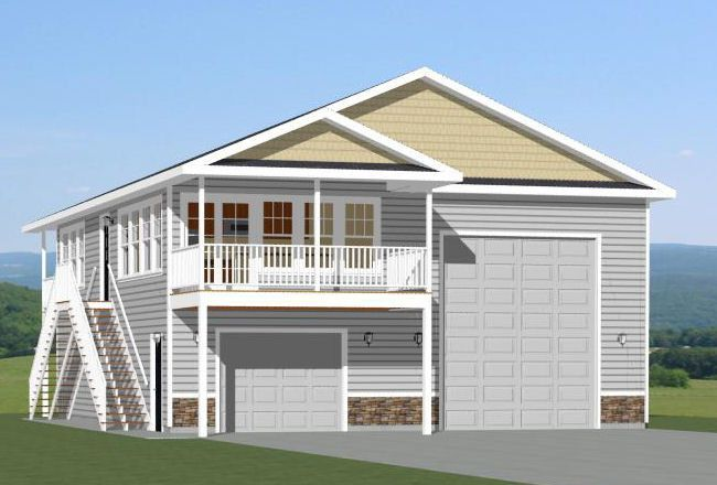 Pdf house plans garage plans shed plans house on for Rv garage plans with living space