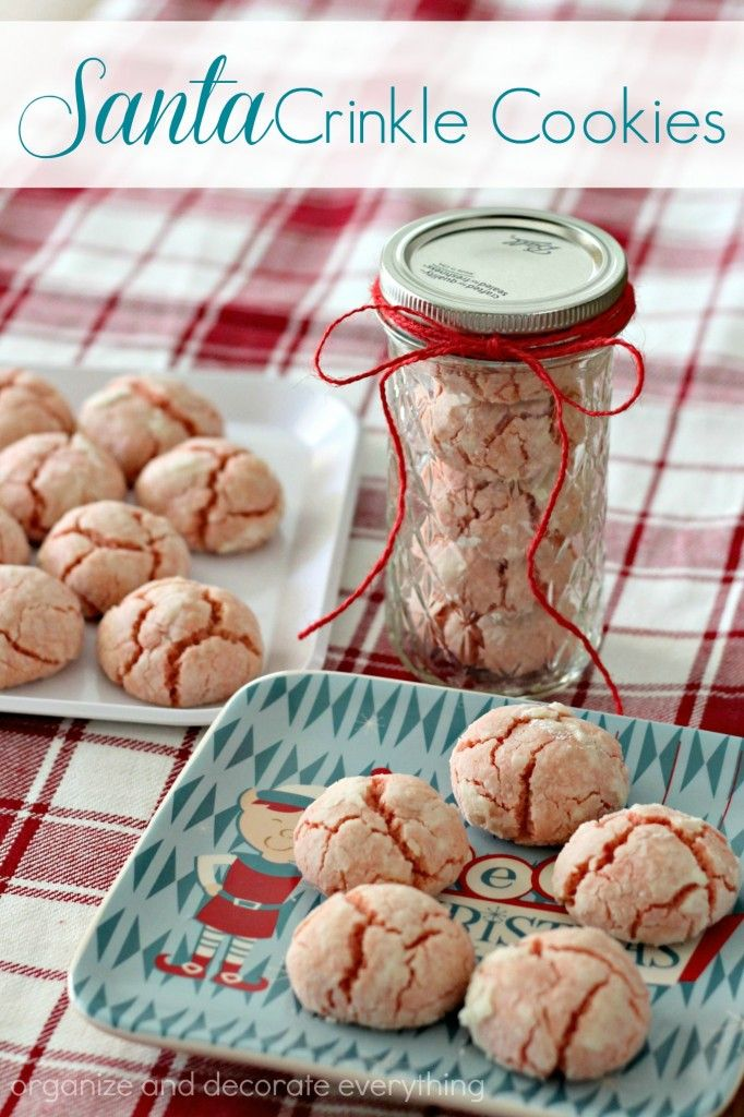 santa-crinkle-cookies-for-christmas-gift-giving-organize-and-decorate-everything