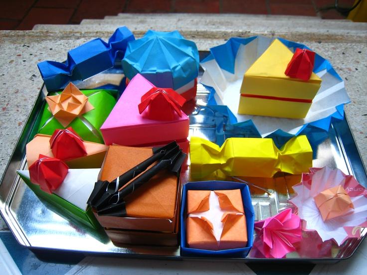 Origami Cakes